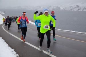 Colorful women Horetooth Half Marathon