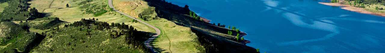 Horsetooth Half Marathon Centennial Drive